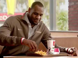 LeBron James, McDonald's Pitchman, Sells ObamaCare